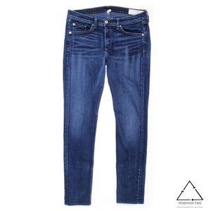 Rag & Bone / Jean Skinny Jeans in Woodford